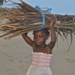 Feuerholz sammeln - Kinderarbeit in Afrika (Cameroonian-Canadian Foundation)