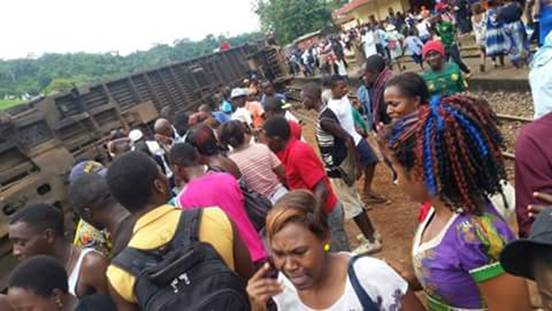 Train accident in Cameroon