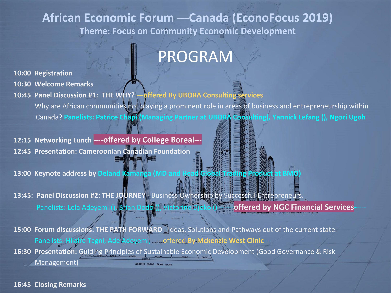 African Economic Forum Canada p2